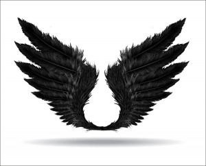 wings  of darkness vector