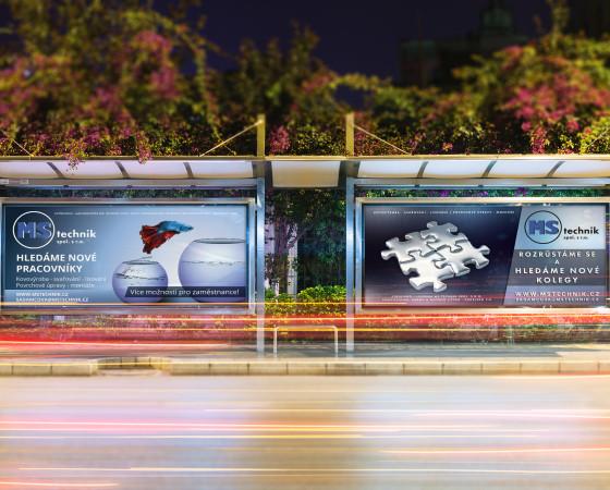 Sada billboardů pro MS Technik