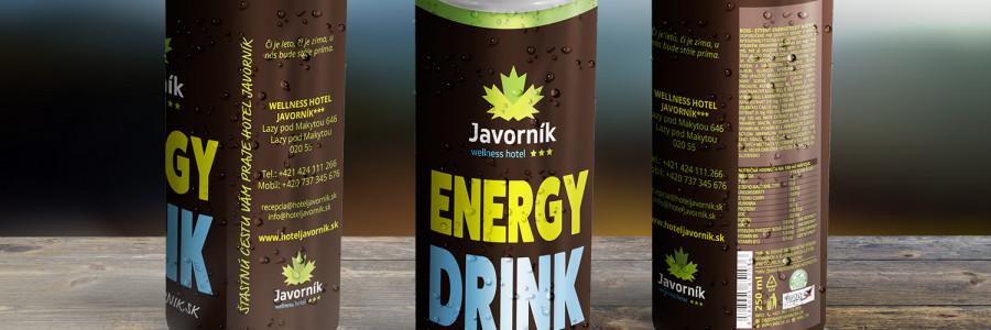 Obalový design – energetický nápoj